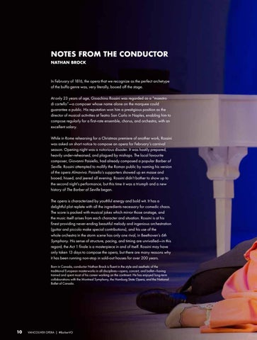 Page 10 of Notes from the Conductor