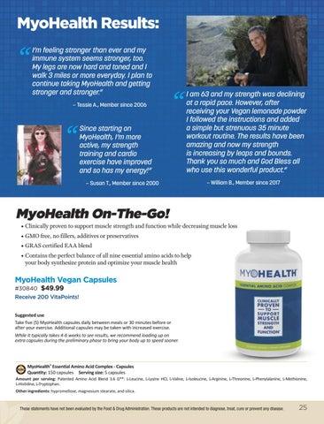 Page 25 of MyoHealth® Capsules