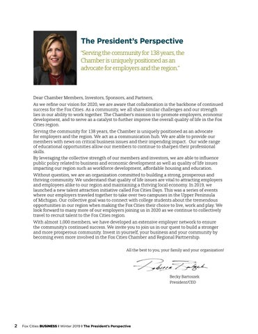 Page 4 of The President's Perspective
