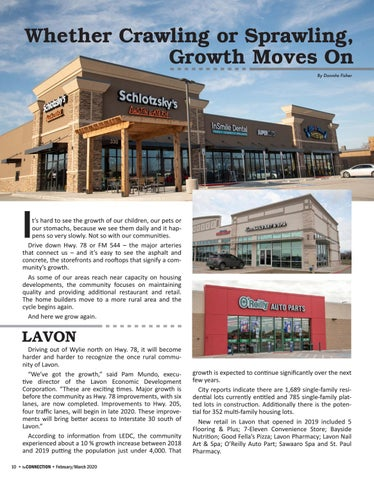 Page 12 of Whether Crawling or Sprawling, Growth Moves On