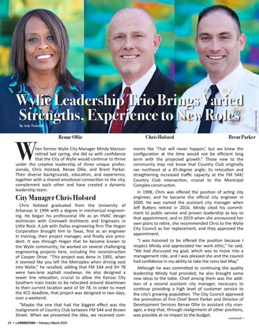 Page 26 of Wylie Leadership Trio Brings Varied Strengths, Experience to New Roles