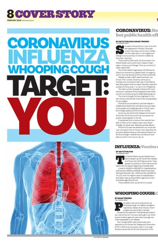 Page 8 of CORONAVIRUS INFLUENZA WHOOPING COUGH TARGET : YOU