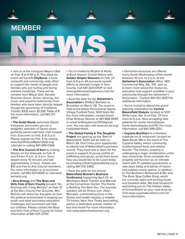 Page 13 of MEMBER NEWS