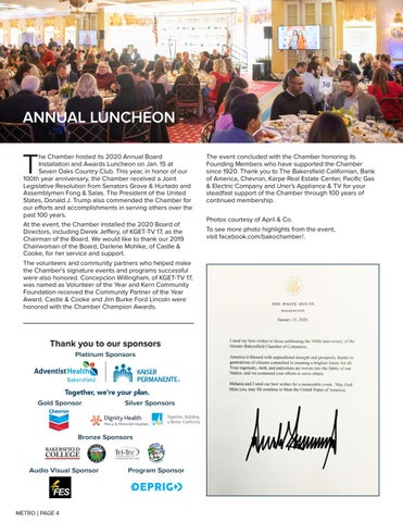 Page 4 of BOARD INSTALLATION & AWARDS LUNCHEON