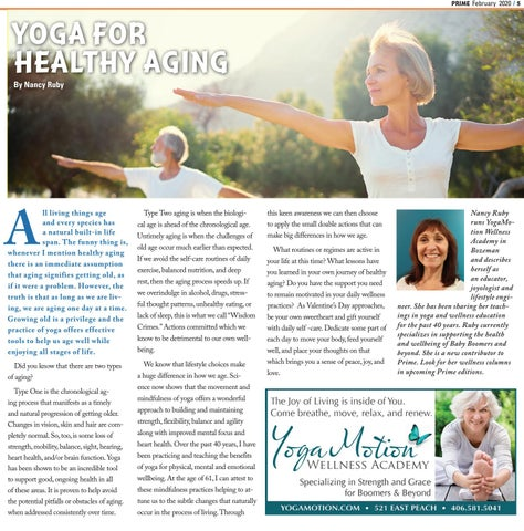 Page 5 of YOGA FOR HEALTHY AGING