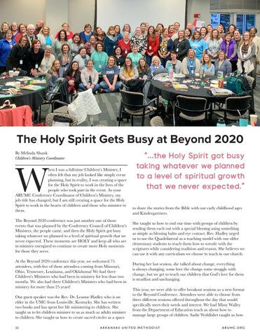 Page 12 of The Holy Spirit Gets Busy at Beyond 2020