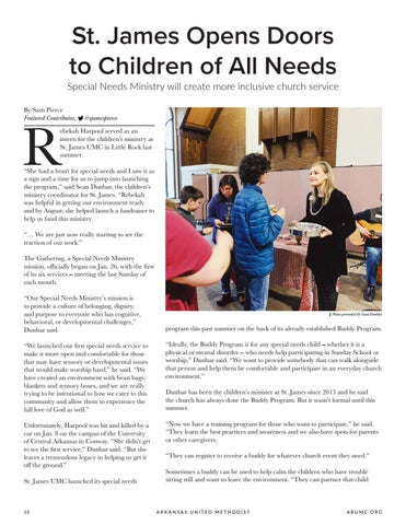 Page 16 of St. James Opens Doors to Children of All Needs
