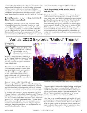 "Page 19 of Veritas 2020 Explores ""United"" Theme"