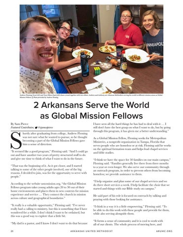 Page 24 of 2 Arkansans Serve the World as Global Mission Fellows