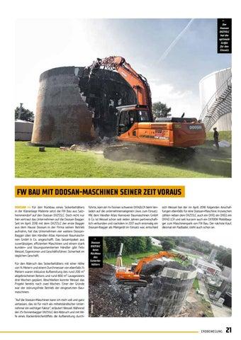 Page 21 of Komatsu Europe stellt den Hydraulikbagger PC360LCI-11 vor
