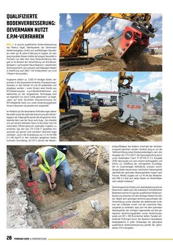Page 28 of Qualifizierte Bodenverbesserung mit dem E.P.M-Verfahren