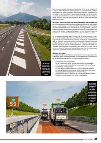 Page 37 of Effizienzmeister im Einsatz: Wirtgen Großfräse W 210 FI