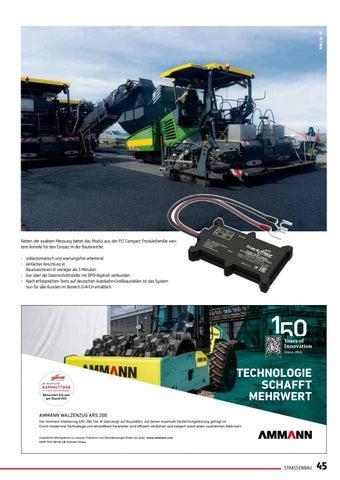 Page 45 of Herstellerunabhängige Maschinenvernetzung jetzt auch für Asphaltfertiger