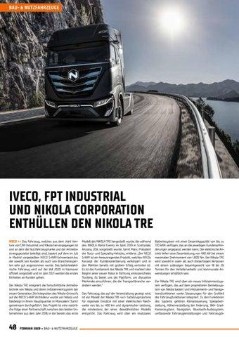 Page 48 of Iveco, FPT International und Nikola Corporation enthüllen den Nikola TRE