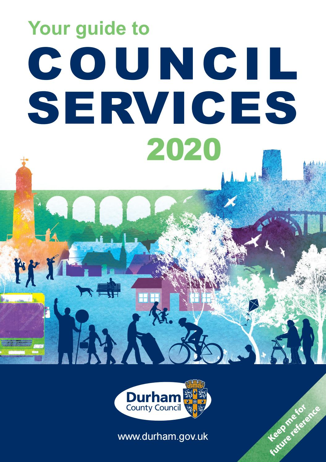 Durham County Council Guide To Services 2020 By Dcc Design And Print Issuu