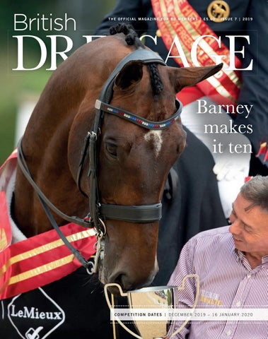 British Dressage Issue 7 2019 By British Dressage Issuu