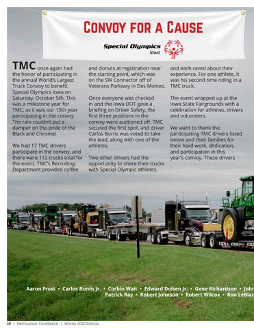 Page 10 of Convoy for a Cause