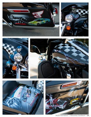Page 15 of Love for NASCAR Inspires a Vision on Two Wheels
