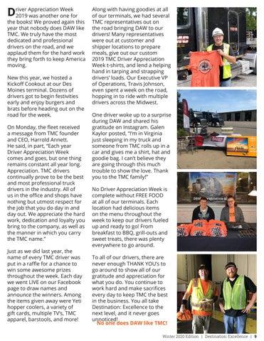 Page 9 of Driver Appreciation Week 2019