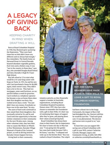 Page 5 of A legacy of giving back