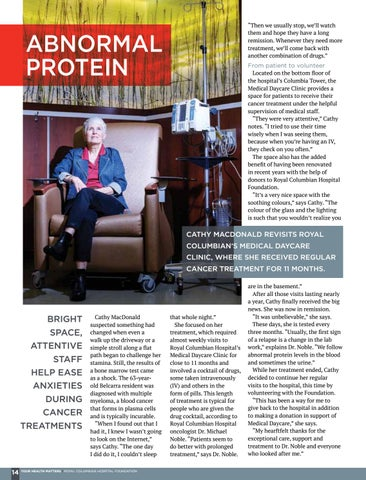 Page 14 of Abnormal protein