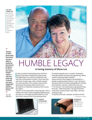 Page 5 of Humble legacy