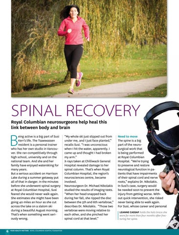 Page 6 of Spinal recovery