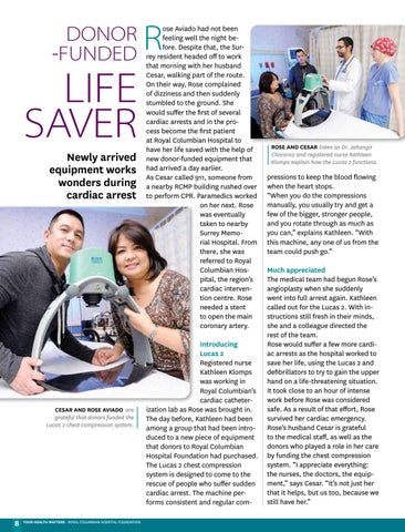 Page 8 of Donor-funded life saver