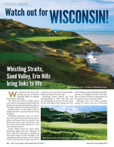 Page 10 of Wisconsin offers stunning links-style golf