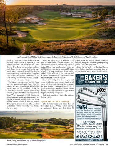 Page 11 of Wisconsin offers stunning links-style golf