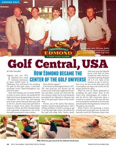 Page 24 of Edmond, golf capital of the USA
