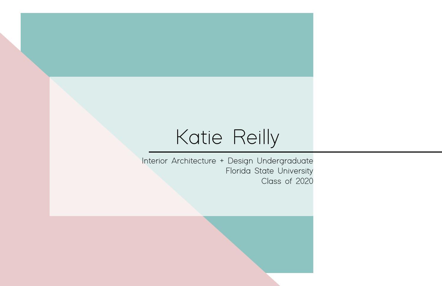 Katie Reilly Interior Design Portfolio 2020 By Katie Reilly Issuu