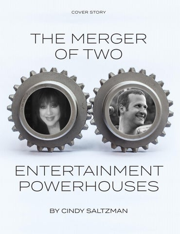 Page 16 of COVER STORY The merger of two entertainment powerhouses