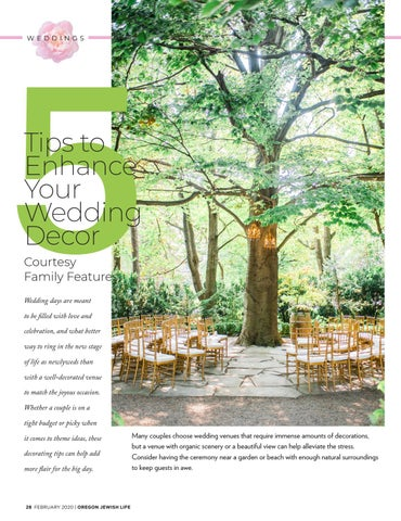 Page 28 of 5 tips to enhance your wedding décor