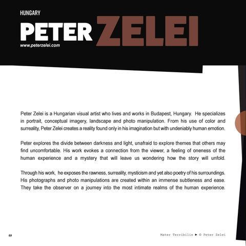 Page 70 of Peter Zelei | Featured Artist