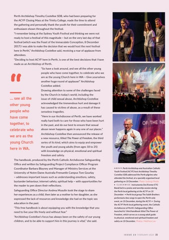 Page 23 of Perth Locals ACYF Gathering