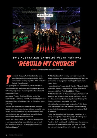 Page 8 of ACYF Overview: 'Rebuild my Church