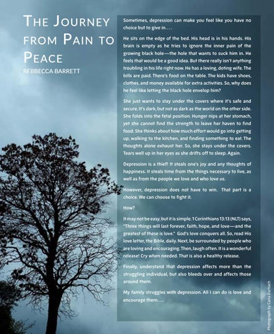 Page 36 of The Journey from Pain to Peace, by REBBECCA BARRET