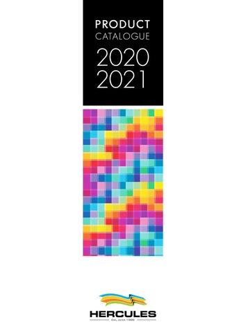 Hercules Group. Κατάλογος προϊόντων - Product Catalogue 2020 - 2021