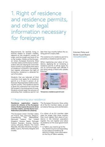 Page 7 of mits, and other legal information neces sary for an foreigners