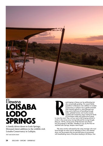 Page 34 of Spotlight: Elewana Loisaba Lodo Springs