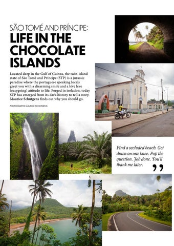 Page 36 of SÃO TOMÉ AND PRÍNCIPE: Life in the Chocolate Islands