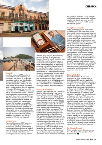 Page 37 of SÃO TOMÉ AND PRÍNCIPE: Life in the Chocolate Islands