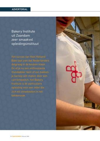 Page 18 of Bakery Institute uit Zaandam zeer smaakvol opleidingsinstituut