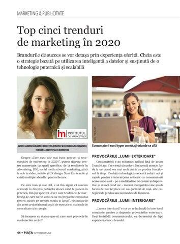 Page 46 of Top cinci trenduri de marketing în 2020