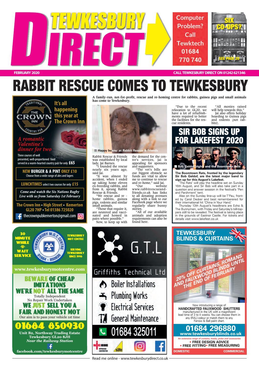 Tewkesbury Direct Magazine February 2020 By Tewkesbury Direct Magazine Issuu