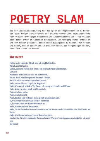 Page 12 of POETRYSLAM GEGEN RECHTS