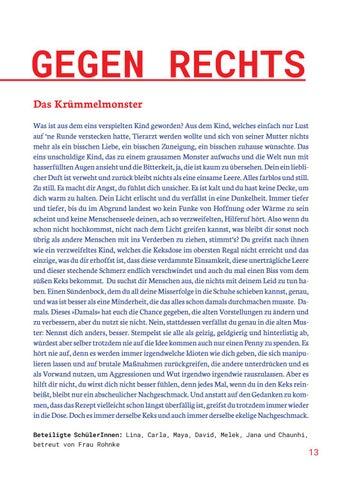 Page 13 of POETRYSLAM GEGEN RECHTS