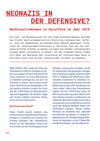 Page 24 of NEONAZIS IN DER DEFENSIVE?