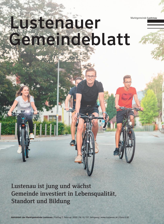 Lustenauer Gemeindeblatt - Gemeindearchiv